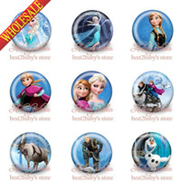 Wholesale High Quality New Arrival Frozen cartoon pin Kids badge cm mm set Cartoon button pin badge badge button gift kids collection