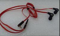 Wholesale Factory Price Metal mm L Plug In ear Mini Earphones Headphones Hot Sale Earbuds In Plastic wrap Bag