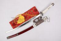Wholesale 41 quot Japanese Samurai Katana Sword Tachi Sword Decoration Samurai Sword Carbon Steel Blunt Blade
