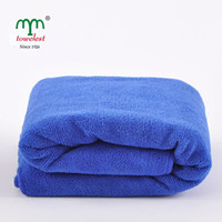 Wholesale Hot Sales Microfiber Plush Thicken Soft Quick Drying Bath Towels Micro Plush Ultra Soft Beach Sheets cm cm quot quot