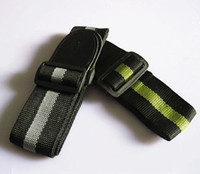 Wholesale 10pcs New Durable Adjustable Nylon Stripe Guitar Strap With Soft Artificial Leather