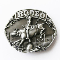 Wholesale Retail Original Western Race Rodeo Bull Rider Belt Buckle Factory Direct Fast Delivery