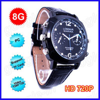 Wholesale HDW A HD P Waterproof Watch GB Spy Watch Camera Hidden Mini DVR Camcorder
