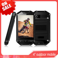Wholesale 4 Inch Water proof Cell Phone Dual Camera Dust proof Scratch proof Bluetooth Phone