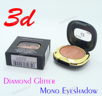 Wholesale Deluxe D Sparkly Diamond Glitter Single Colors Metallic Eyeshadow