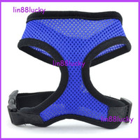 Harnesses dog harness - Fashion Safety Soft Breathable Mesh Walk Harness Clothes for Pet Dog Puppy mess dog harness