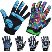 Wholesale 2013 New Arrival Cycling Bike Bicycle BMX Road Bike Full Finger Gloves Colors Size M XL