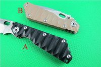 Folding Blade Folding Blade Knife  FREE SHIPPING!Hot sale New arrival STRIDER Folding blade knife gift knife 5Cr13Mov blade G10 handle hunting pocket camping knives (2 styles