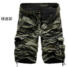 Wholesale 2014 new summer men s shorts pants army military camo white Camo half length men trousers Cargo Pants