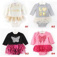 romper - 2014 girl set Baby Romper Princess Romper Dress Infant Girls Newborn Romper tutu Dress Cake Skirt Sets T