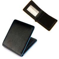 Wholesale S5Q Men s Boy s Ultra Slim PU Leather Bifold Credit ID Cards Holder Wallet Purse AAADDU