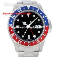 pepsi - Hot Selling Luxury Perpetual Stainless GMT Mmaster II Pepsi Bezel SANT BLANC Mens Watch Men s Watches