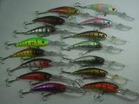Wholesale Assorted fishing lures minnow crankbaits hooks g cm