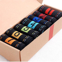 sport socks - S5Q Pairs Casual Men s Dress Socks Cotton Ankle Socks Crew Sports Socks AAADDW