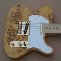 Wholesale Chinese new arrival OEM top quality natural electric guitar KHF TELE