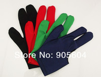 Wholesale 4x Billiards Pool Snooker Cue Shooters Fingers Gloves