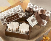 On Sales Maple Leaf Soap 200sets Fall in Love Scented soap B...