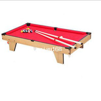 Wholesale Large child household pool table mini child tables toy standard american snooker table