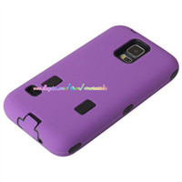 Wholesale Hybrid Duty Heavy Armour Amor Hard Plastic soft silicone rubber case cover Touch screen cases for Samsung Galaxy S5 I9600 Iphone S S