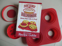 Wholesale Hot Sale My lil pie maker circle silica gel cake mold Baking Moulds sets K07689
