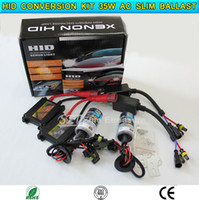 Wholesale HID conversion Xenon KIT Single Beam bulb V W AC silm ballast H1 H3 H4 H7 H8 H9 H10 H11 H13 HB3 HB4 sets