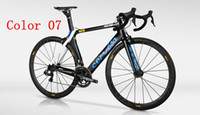 Wholesale Cervelo S5 TIME carbon bike frame color bicycle Frame Fork Seatpost Headset Seat clamp BB right also sell Cervelo cycling jersey