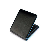 Wholesale S5Q Men s Boy s Ultra Slim PU Leather Bifold Credit ID Cards Holder Wallet Purse AAADDU