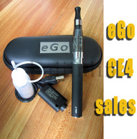 Multi Metal more than 650puffs CE4 eGo Starter Kit e-cig Electronic Cigarette Zipper Case package single kit ego ce4 ego bag 650mah 900mah 1100mah Real Capacity DHL Free