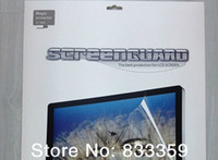 Wholesale For iMac quot inch A1312 LCD Screen Protector Screen Guard Display Protective