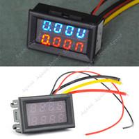 dc - DC V V A Dual LED Digital Voltmeter Ammeter Voltage AMP Power Meter R B TK1212