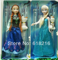 Wholesale Retail Frozen Figure Play Set Elsa Classic Toys Frozen Toys Dolls set for girls kids gifts FR237