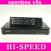 Wholesale 10pcs Original Openbox V5S HD full p satellite receiver support usb wifi youtube cccamd same as Skybox F5S UK europe fedex