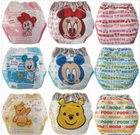 Wholesale Baby lovely animals learn quot pants quot Baby diapers nappies training pants pants