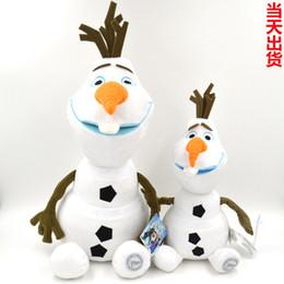 Wholesale 5pcs OLAF cm acción muñeca muñeca congelada figuras de juguete de felpa juguetes de nieve muñeco de nieve