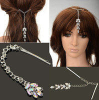 Other Fashion Hairwear Dangle Tassel Flower Peacock Crystal Rhinestone Hair Pin Clip Party Accessory[JH02037JH02038]