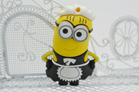 Wholesale 201404Q New Thief Daddy U disk Despicable Me cartoon creative cute little yellow man USB