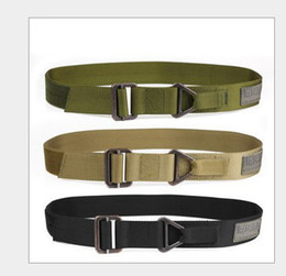 Wholesale Tactical Military Outdoor Blackhawk Belt Camping Camouflage Canvas Quick Release Belts BT