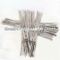 Wholesale 500pcs stainless steel skewer bbq grill stick