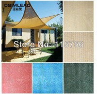 Wholesale Triangle high grade shade sail HDPE m m m shade sail blocks up to percent of sunrays sun sail