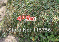 Wholesale 4 m Woodland Leaves Camouflage Camo Net For Hunting Camping Military Photography