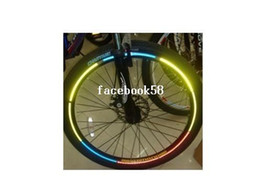 Wholesale bicycle parts Guard straps New bike wheel accessories reflective patches tape for car motor