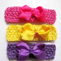 Wholesale mix color Baby infant girls Hair AccessoriesHair Band Kids Headband Babies Toddler Head Band BA15 colors