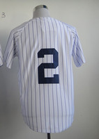 Wholesale 2014 new style Baseball Jersey Yankees JETER Embroidery Logo and Number Mix Order Outdoor Athletic Wear