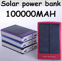 Wholesale New Solar Power Bank mah Portable Solar Battery Middle East Hot sale Charging Battery for All mobile phones