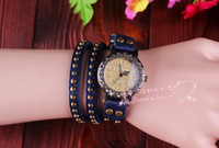Wholesale promition Top Quality Cow Leather watches ROMA watches header women watch