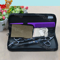 Wholesale Professional Stainless Hairdressing Scissors Set Kit Barber Hair Thinning