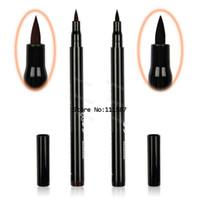Wholesale Hot Brown Black New Cosmetics Makeup Not Dizzy Waterproof Liquid Eyeliner Pencil