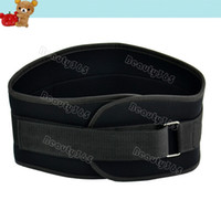 Wholesale Hot Sale Black cm Nylon Sport Weight Belt Lifting Belt Gym Back Support Power Training Work Fitness Lumber TK0842
