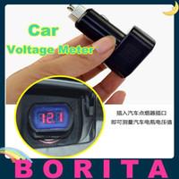 Wholesale DC V Car LED Digital Display Electric Voltage Meter Cigarette Lighter Voltmeter with high brightness of LED