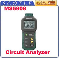 Wholesale Freeshipping MS5908 TRMS voltage GFCI RCD Tester Circuit Analyzer fit IDEAL SureTest CN